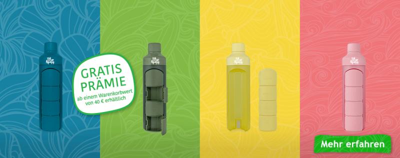 Gratis Prämie YOS Health Bottle