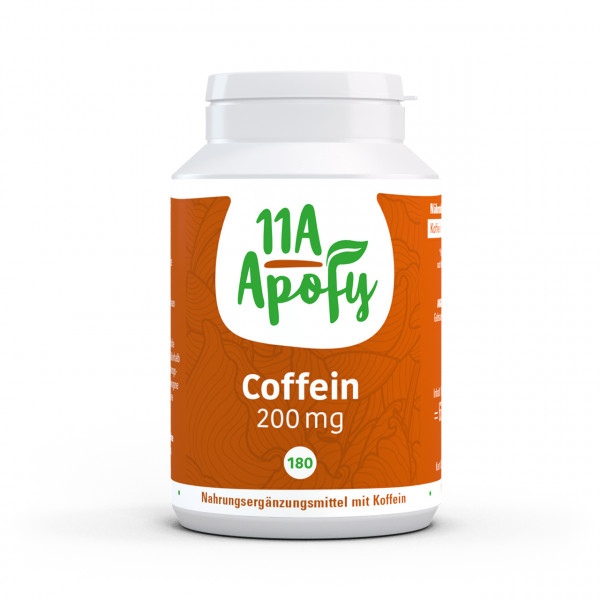 Coffein 200 mg (180 Tbl)