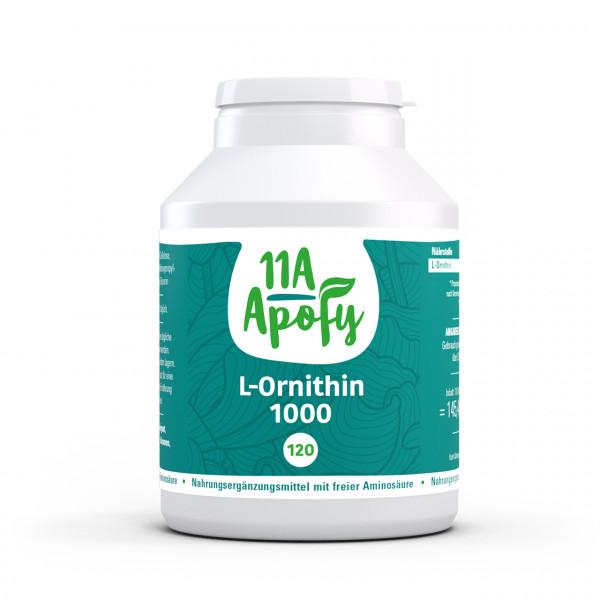 L-Ornithin 1000 (120 Tbl)