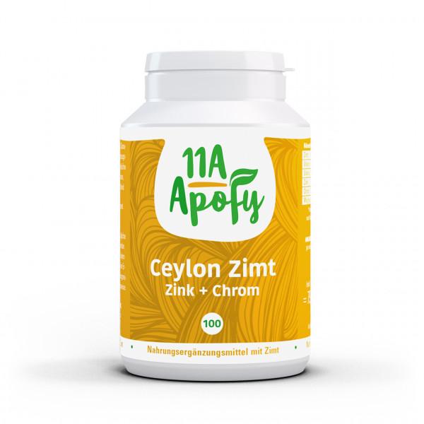 Ceylon-Zimt Zink + Chrom (100 Kps)