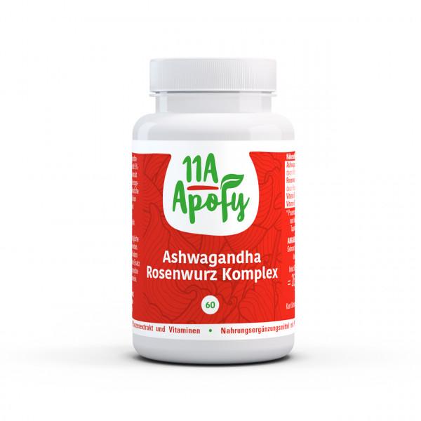 Ashwagandha Rosenwurz Komplex (60 Kps)