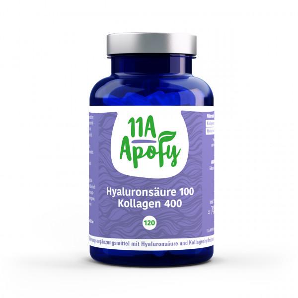 Hyaluronsäure 100 Kollagen 400 (120 Kps)